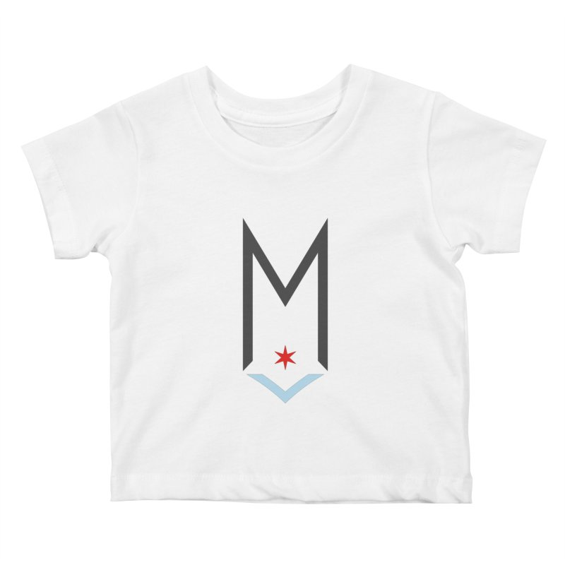 M - Classic Logo Kids Baby T-Shirt by Shop Maplewood Brewery & Distillery