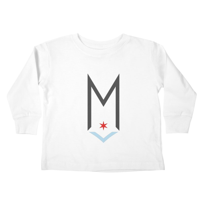 M - Classic Logo Kids Toddler Longsleeve T-Shirt by Shop Maplewood Brewery & Distillery