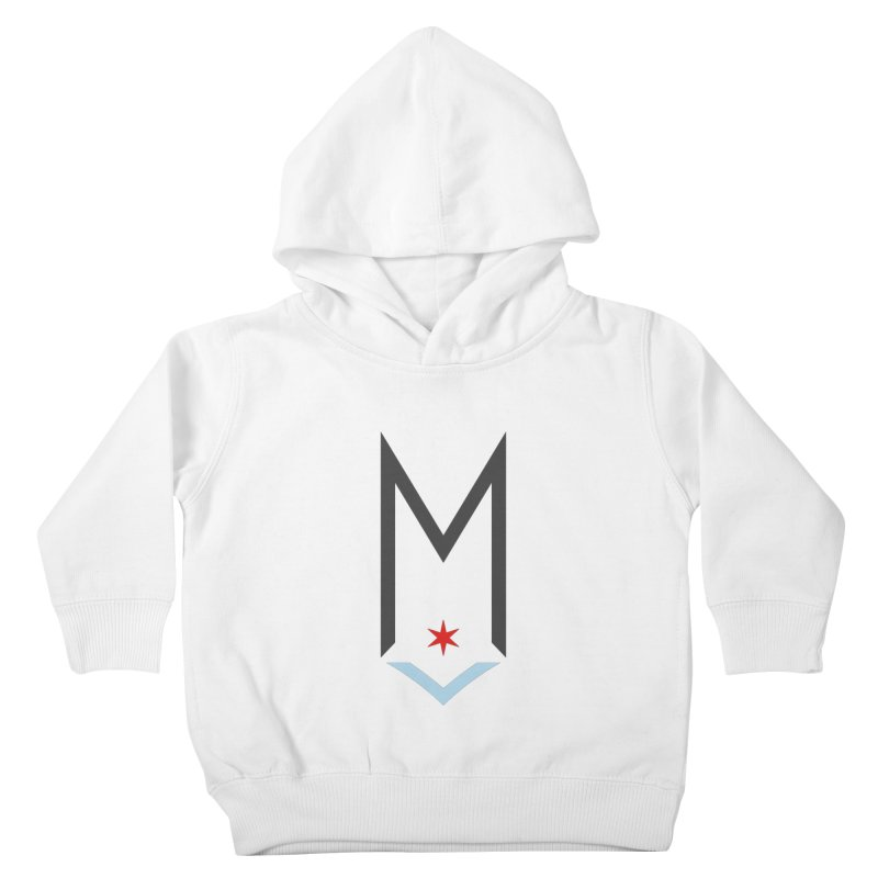 M - Classic Logo Kids Toddler Pullover Hoody by Shop Maplewood Brewery & Distillery
