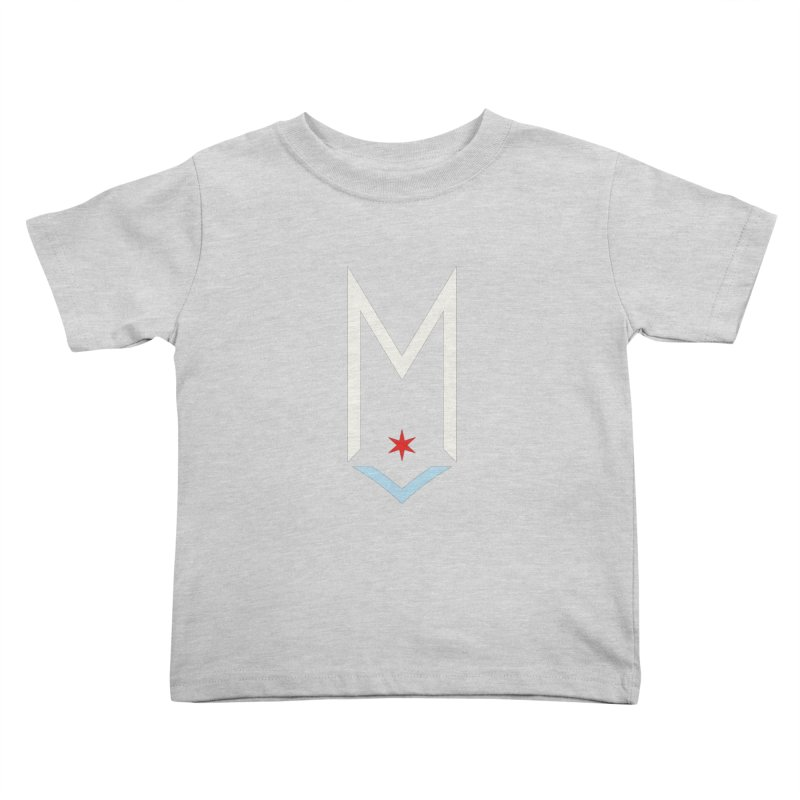 M - Off White Logo Kids Toddler T-Shirt by Shop Maplewood Brewery & Distillery