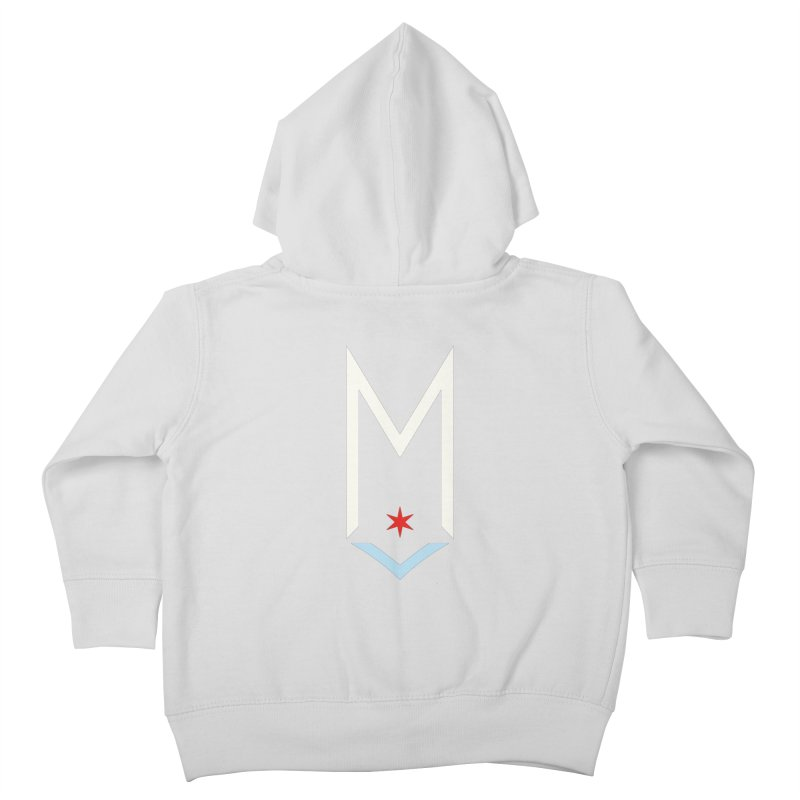 M - Off White Logo Kids Toddler Zip-Up Hoody by Shop Maplewood Brewery & Distillery
