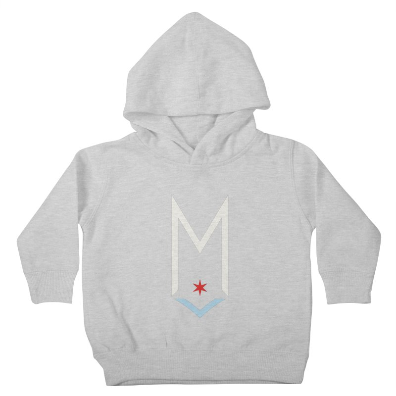 M - Off White Logo Kids Toddler Pullover Hoody by Shop Maplewood Brewery & Distillery