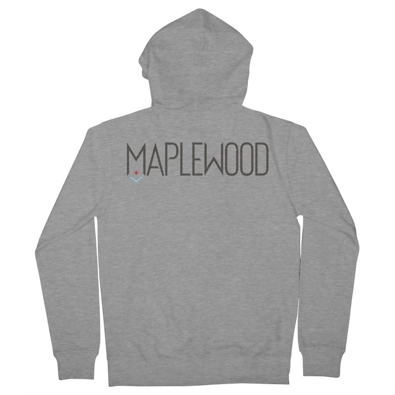 Maplewood - Classic Logo Men's French Terry Zip-Up Hoody by Shop Maplewood Brewery & Distillery