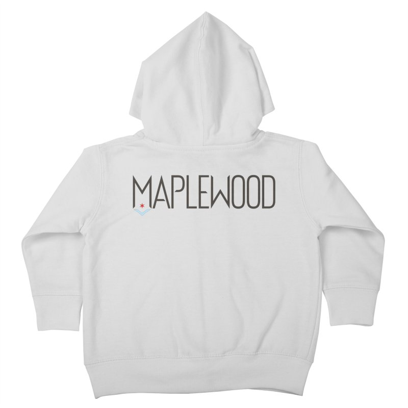 Maplewood - Classic Logo Kids Toddler Zip-Up Hoody by Shop Maplewood Brewery & Distillery