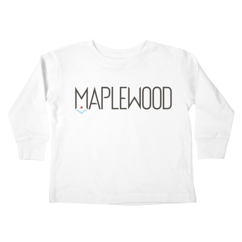 Maplewood - Classic Logo Kids Toddler Longsleeve T-Shirt by Shop Maplewood Brewery & Distillery