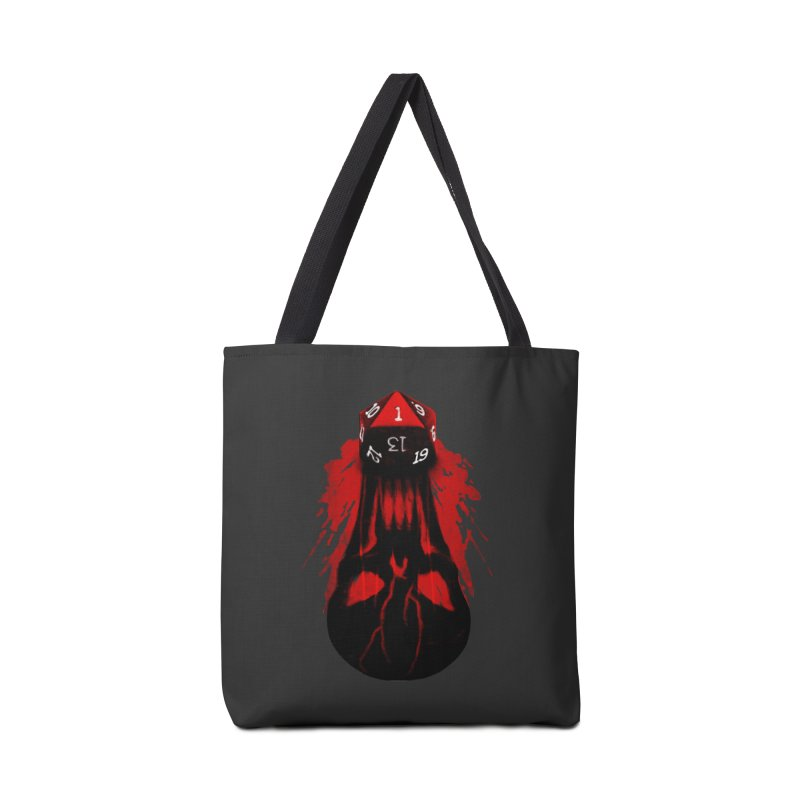 Critical Fail D20 Accessories Tote Bag Bag by maratusfunk's Shop