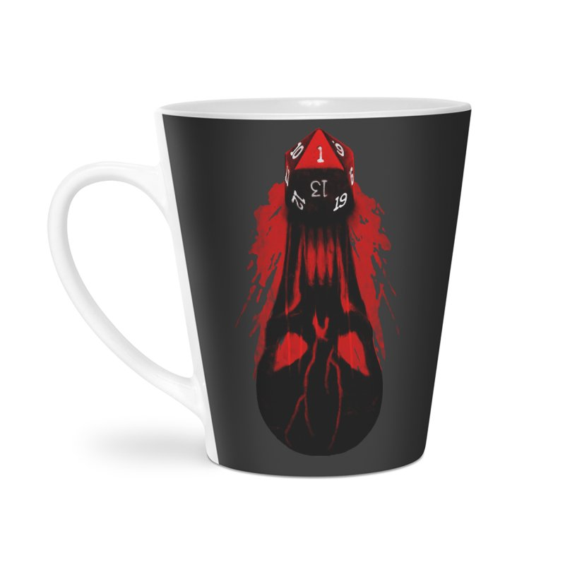 Critical Fail D20 Accessories Latte Mug by maratusfunk's Shop