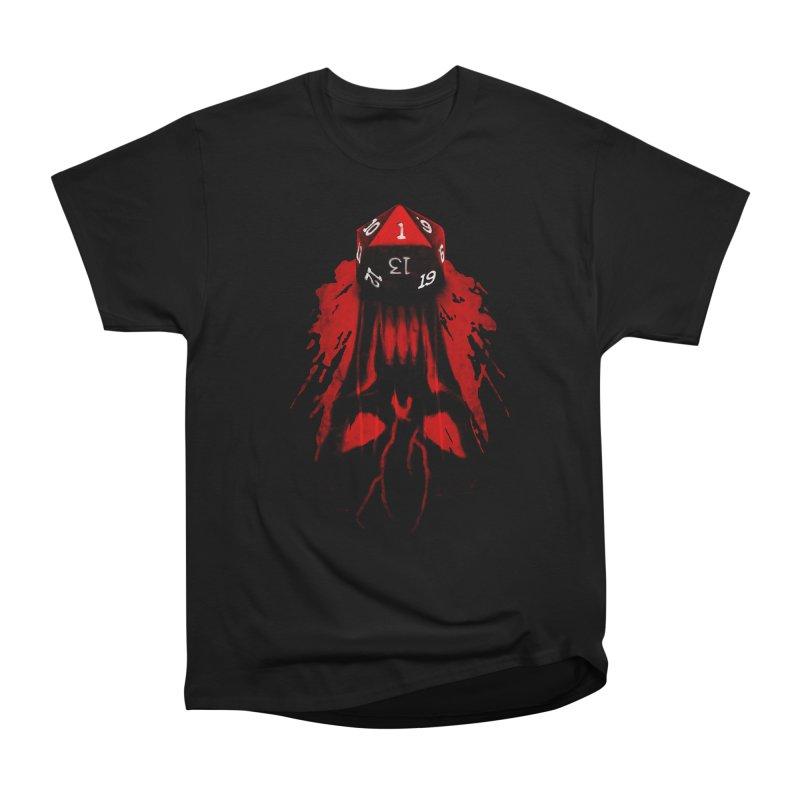 Critical Fail D20 Men's Heavyweight T-Shirt by maratusfunk's Shop