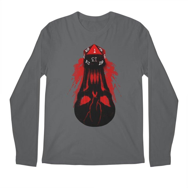 Critical Fail D20 Men's Regular Longsleeve T-Shirt by maratusfunk's Shop