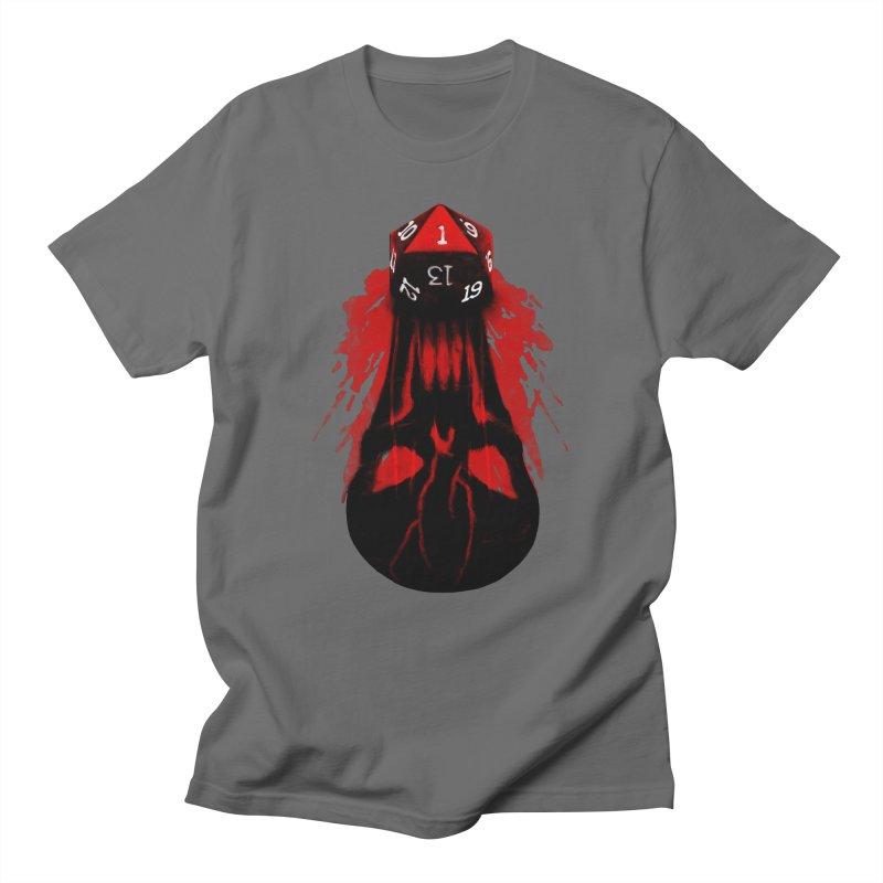 Critical Fail D20 Men's T-Shirt by maratusfunk's Shop