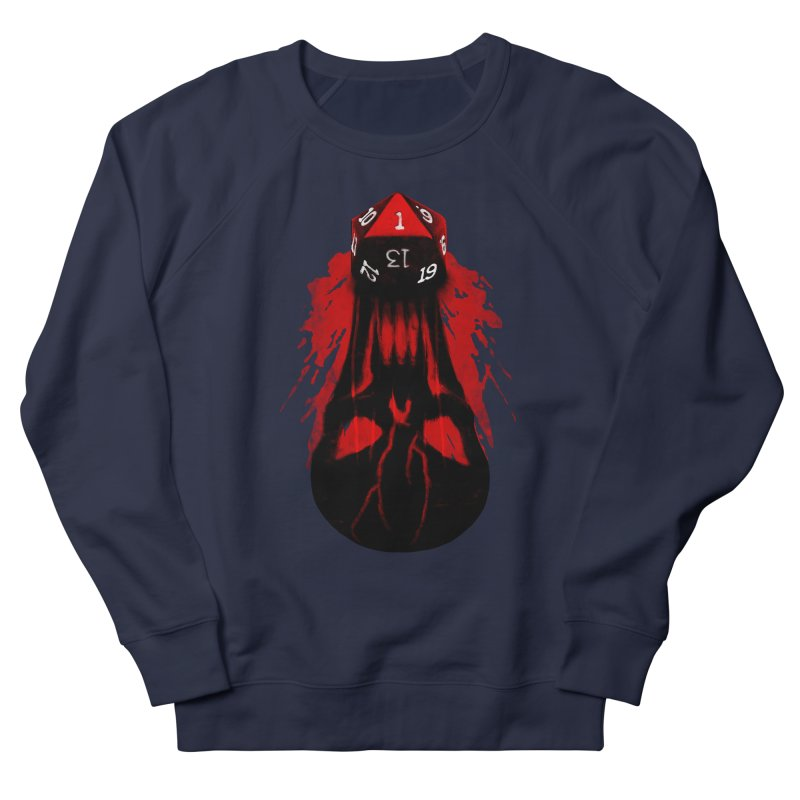 Critical Fail D20 Women's French Terry Sweatshirt by maratusfunk's Shop