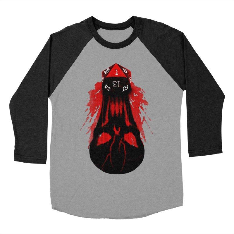 Critical Fail D20 Women's Baseball Triblend T-Shirt by maratusfunk's Shop