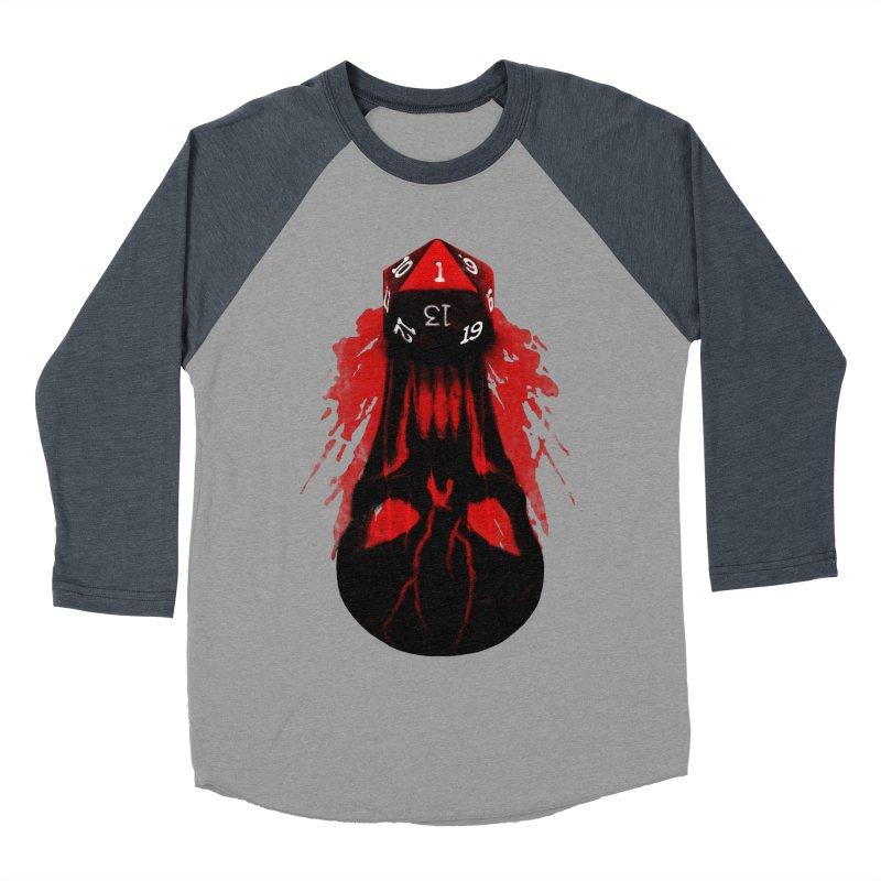 Critical Fail D20 Men's Baseball Triblend Longsleeve T-Shirt by maratusfunk's Shop