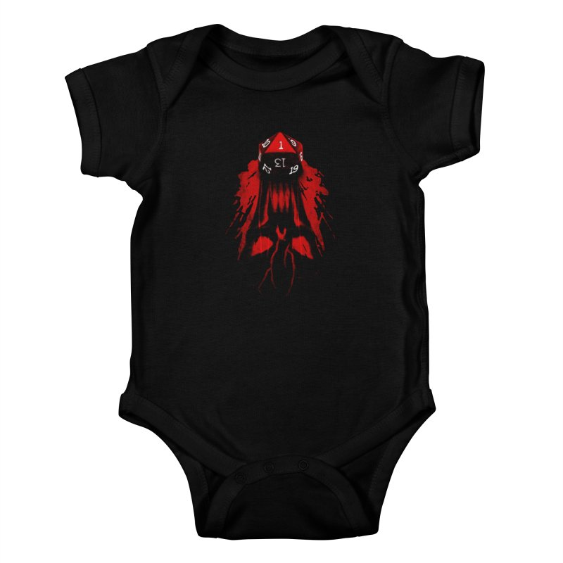 Critical Fail D20 Kids Baby Bodysuit by maratusfunk's Shop