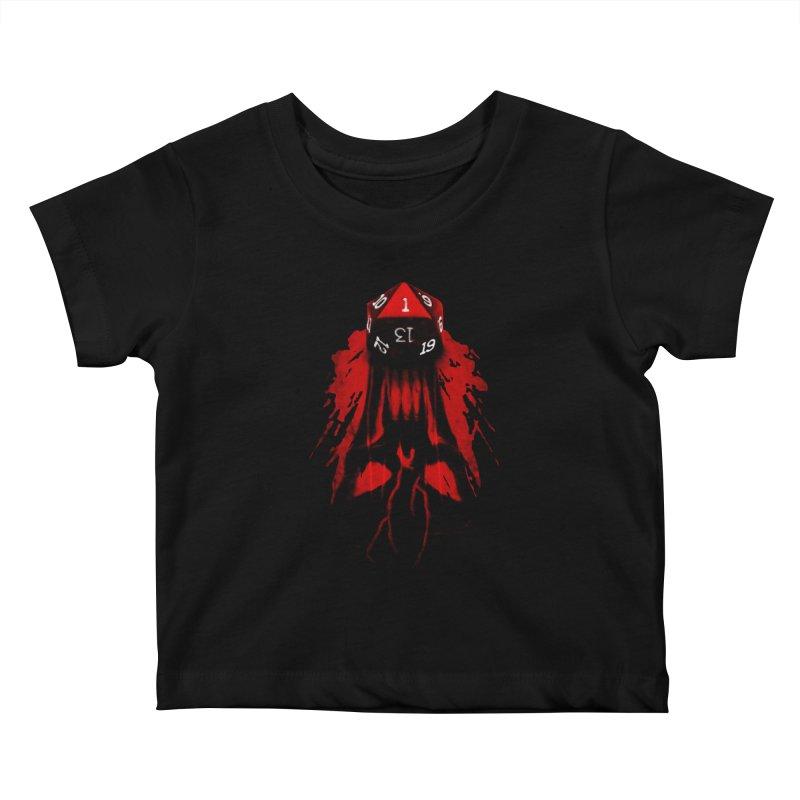 Critical Fail D20 Kids Baby T-Shirt by maratusfunk's Shop