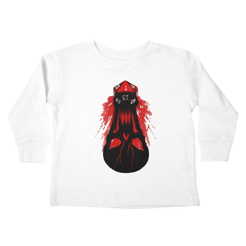 Critical Fail D20 Kids Toddler Longsleeve T-Shirt by maratusfunk's Shop