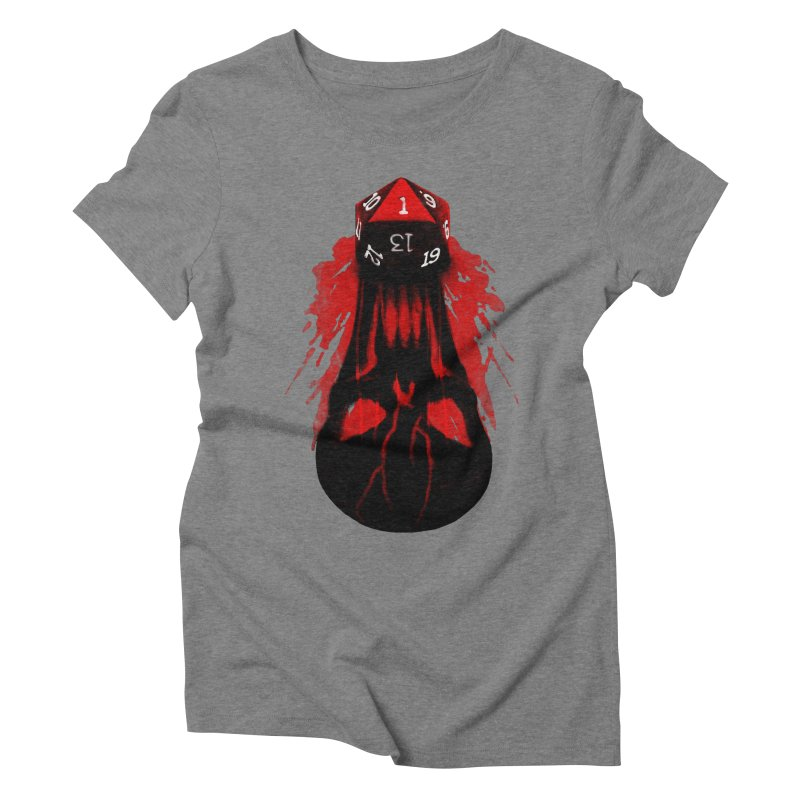 Critical Fail D20 Women's Triblend T-Shirt by maratusfunk's Shop