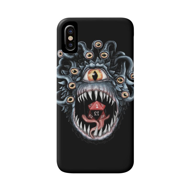 In the Beholder D20 Accessories Phone Case by maratusfunk's Shop