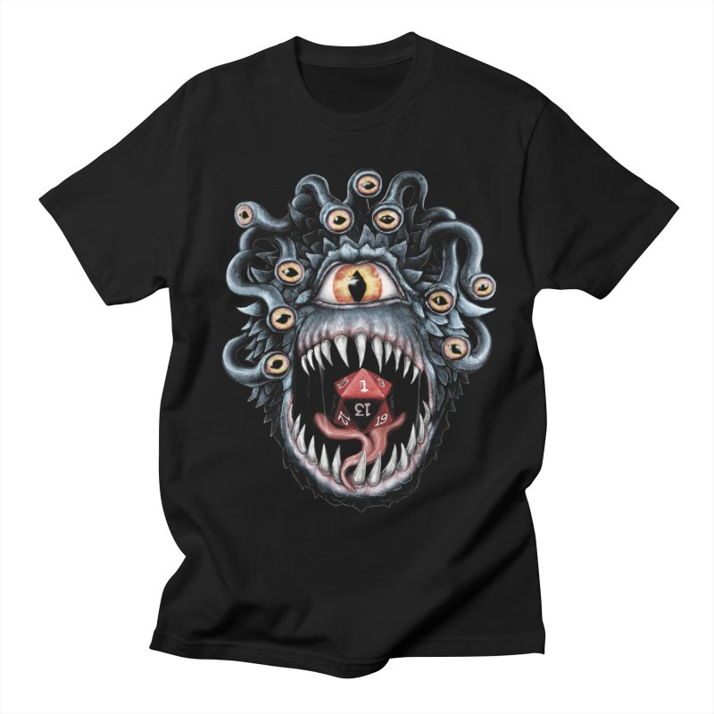 In the Beholder D20 Men's Regular T-Shirt by maratusfunk's Shop