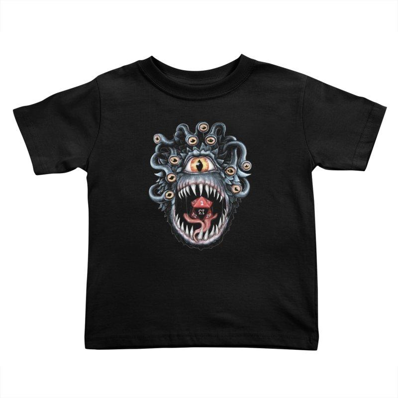 In the Beholder D20 Kids Toddler T-Shirt by maratusfunk's Shop