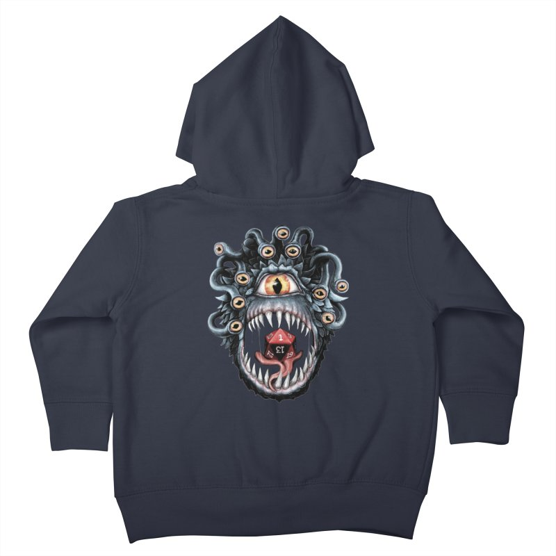 In the Beholder D20 Kids Toddler Zip-Up Hoody by maratusfunk's Shop
