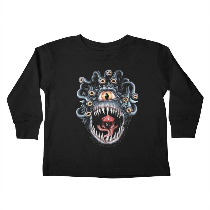 In the Beholder D20 Kids Toddler Longsleeve T-Shirt by maratusfunk's Shop