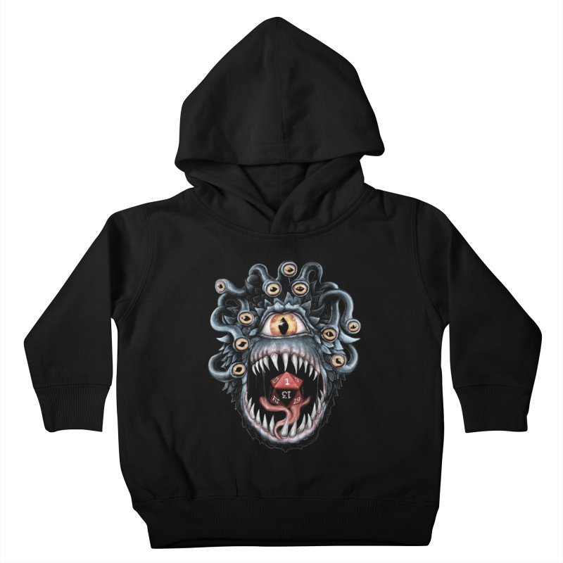 In the Beholder D20 Kids Toddler Pullover Hoody by maratusfunk's Shop