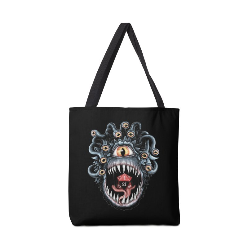 In the Beholder D20 Accessories Tote Bag Bag by maratusfunk's Shop