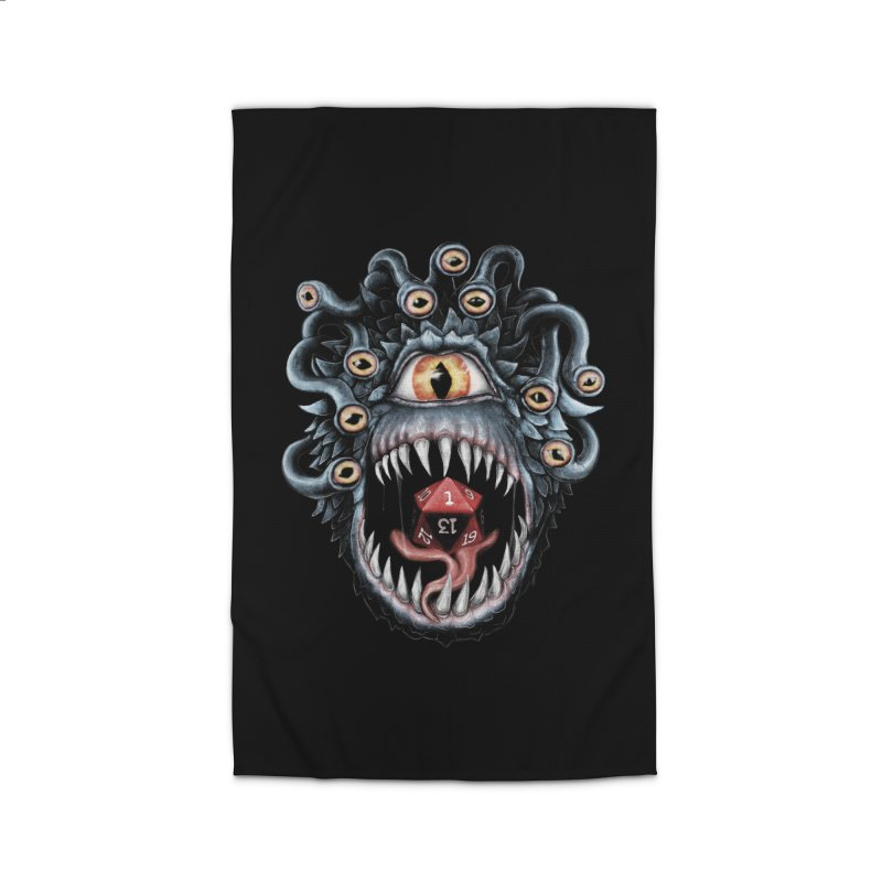 In the Beholder D20 Home Rug by maratusfunk's Shop