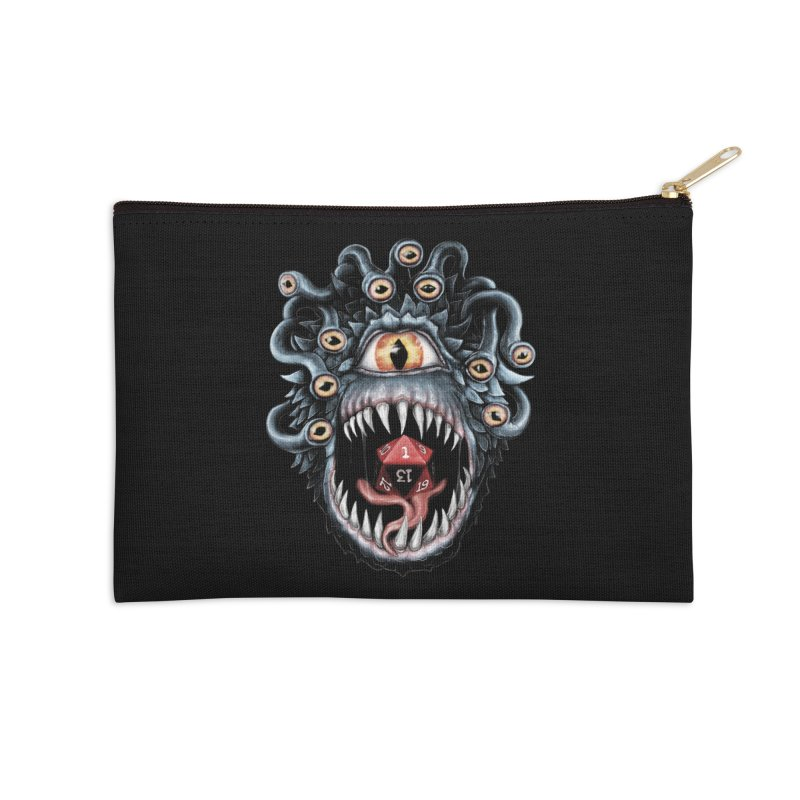 In the Beholder D20 Accessories Zip Pouch by maratusfunk's Shop