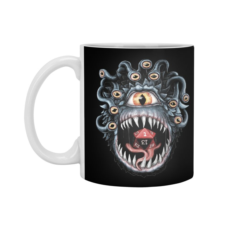 In the Beholder D20 Accessories Mug by maratusfunk's Shop