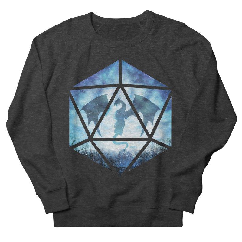 Blue Sky Ice Dragon D20 Women's French Terry Sweatshirt by maratusfunk's Shop