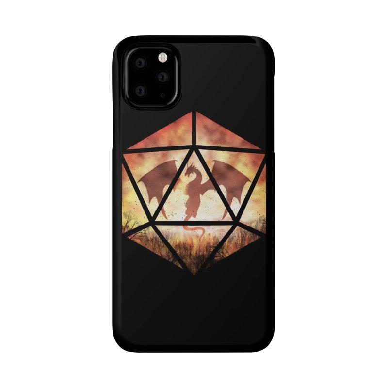 Fire Dragon D20 Accessories Phone Case by maratusfunk's Shop