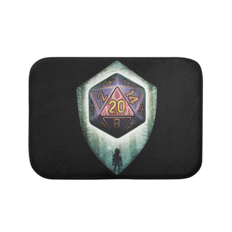 Majora's D20 Home Bath Mat by maratusfunk's Shop