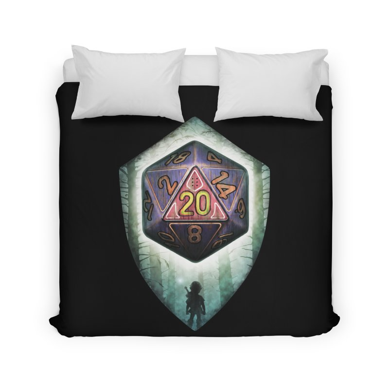 Majora's D20 Home Duvet by maratusfunk's Shop