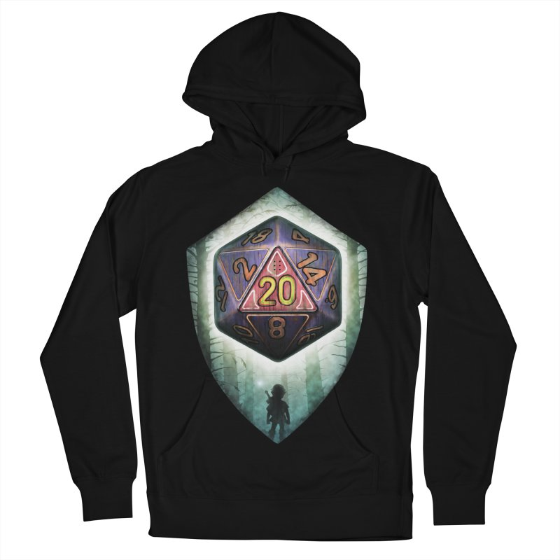 Majora's D20 Men's French Terry Pullover Hoody by maratusfunk's Shop