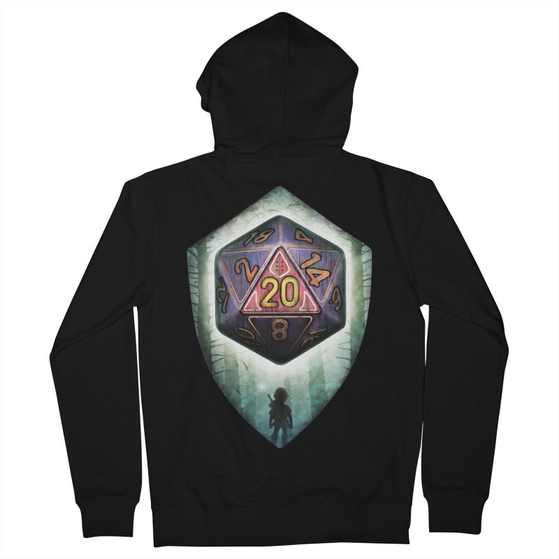 Majora's D20 Women's French Terry Zip-Up Hoody by maratusfunk's Shop