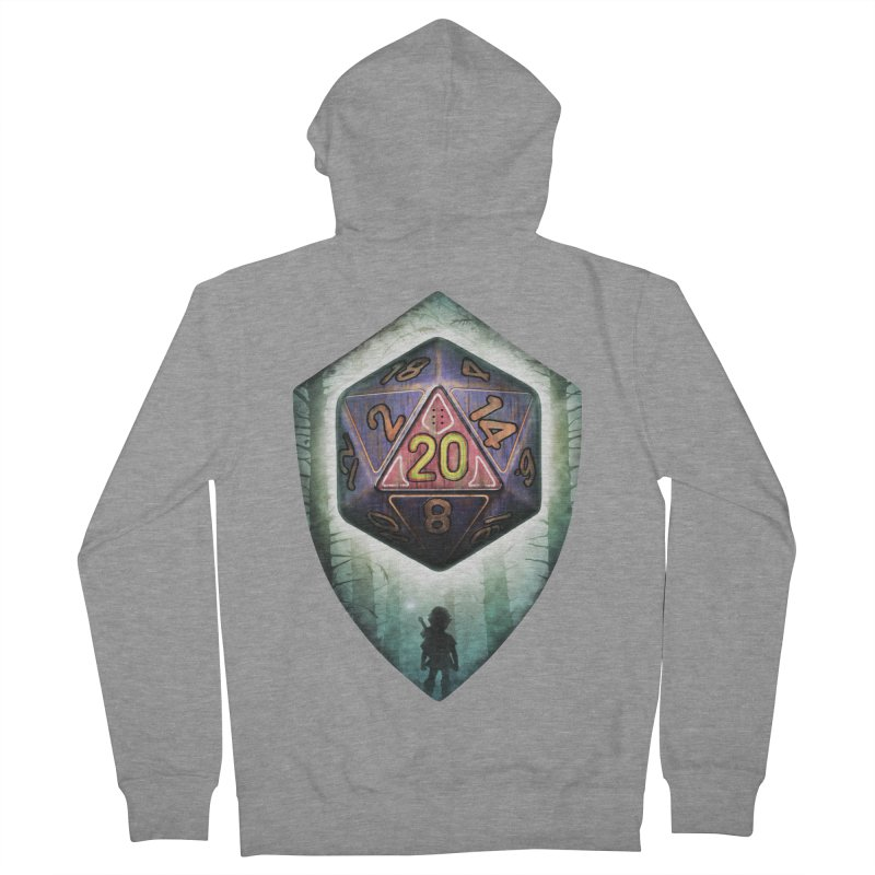 Majora's D20 Men's French Terry Zip-Up Hoody by maratusfunk's Shop