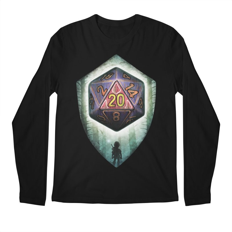 Majora's D20 Men's Regular Longsleeve T-Shirt by maratusfunk's Shop