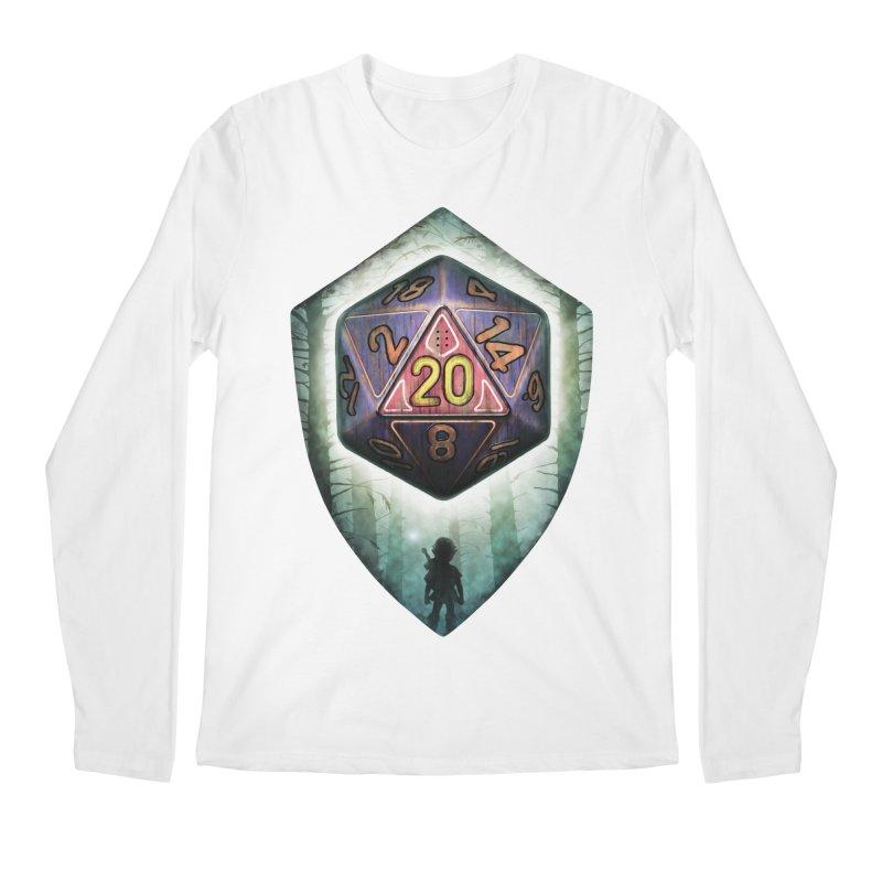 Majora's D20 Men's Regular Longsleeve T-Shirt by maratusfunk's Shop