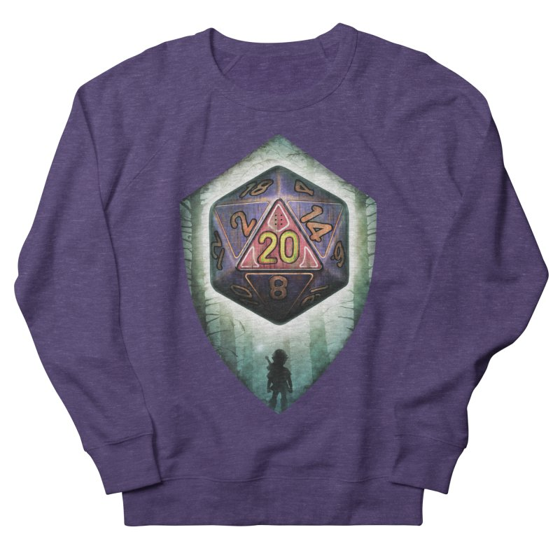 Majora's D20 Women's French Terry Sweatshirt by maratusfunk's Shop