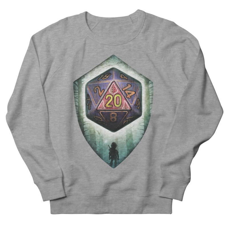 Majora's D20 Men's French Terry Sweatshirt by maratusfunk's Shop