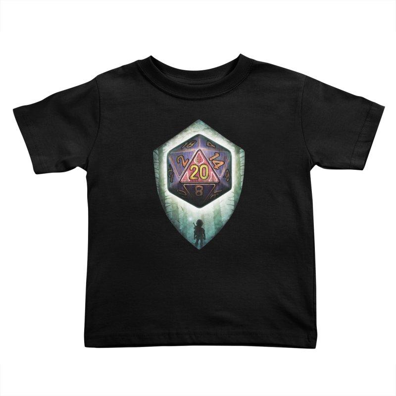 Majora's D20 Kids Toddler T-Shirt by maratusfunk's Shop