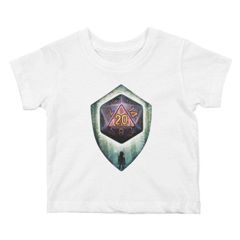 Majora's D20 Kids Baby T-Shirt by maratusfunk's Shop