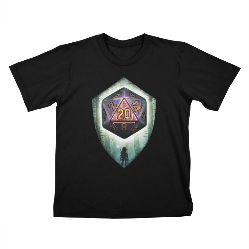 Majora's D20 Kids T-Shirt by maratusfunk's Shop