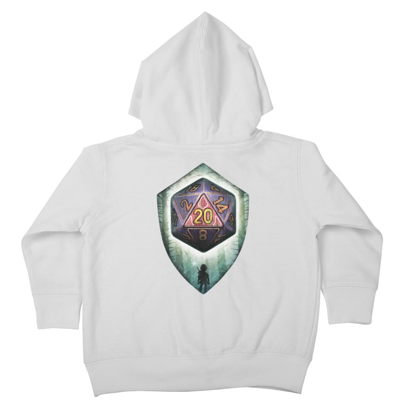Majora's D20 Kids Toddler Zip-Up Hoody by maratusfunk's Shop