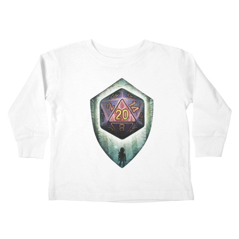Majora's D20 Kids Toddler Longsleeve T-Shirt by maratusfunk's Shop