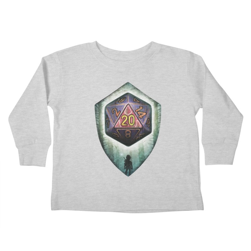 Majora's D20 Kids Toddler Longsleeve T-Shirt by maratusfunk's Shop