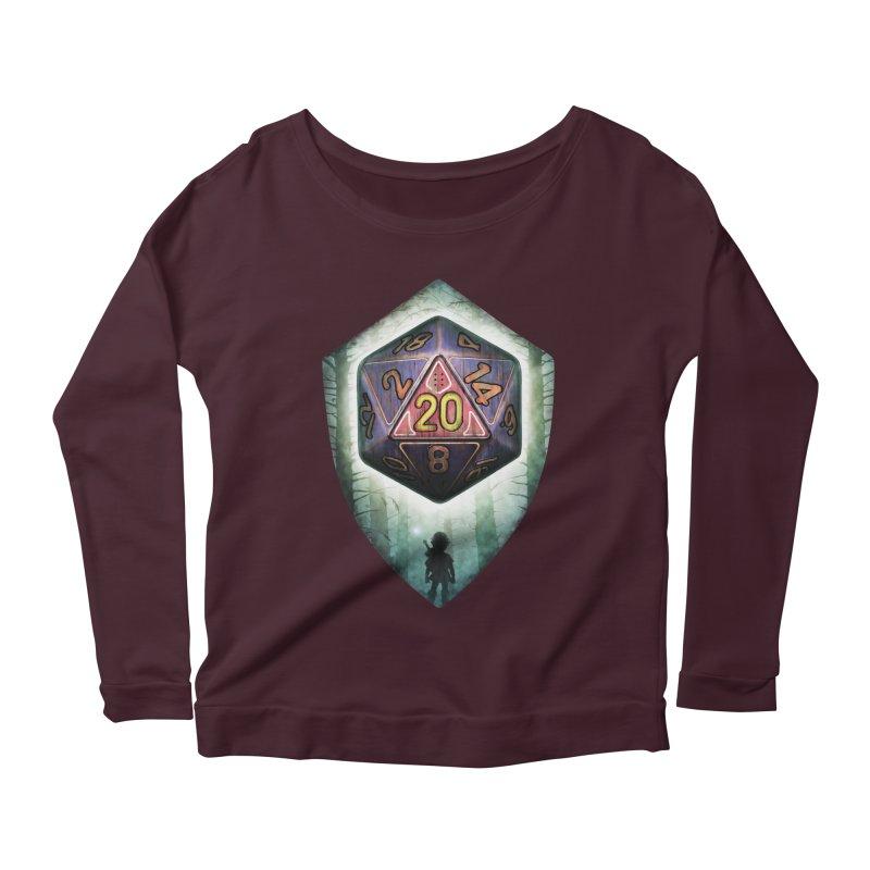 Majora's D20 Women's Scoop Neck Longsleeve T-Shirt by maratusfunk's Shop