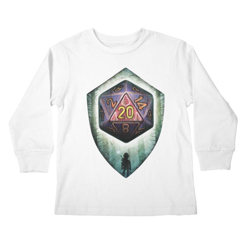 Majora's D20 Kids Longsleeve T-Shirt by maratusfunk's Shop